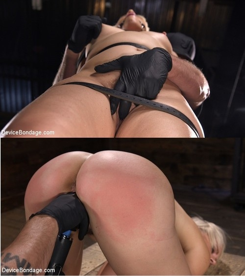 DEVICE BONDAGE - Helena Locke - Sexy Blonde Cougar is Destroyed in Device Bondage (2019/HD/1.60 GB)