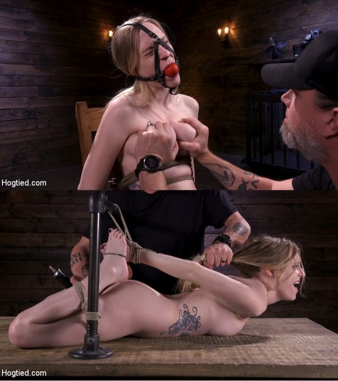 HOGTIED - Violet October - Sassy Pain Slut Gets Tormented in Bondage (2019/HD/1.62 GB)