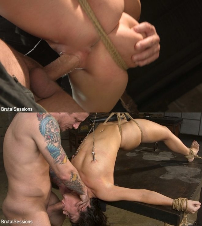 BRUTAL SESSIANS - Mr. Pete, Victoria Voxxx - All Natural BDSM Slut Victoria Voxxx Rough Anal Brutal Bondage (2019/HD/2.01 GB)