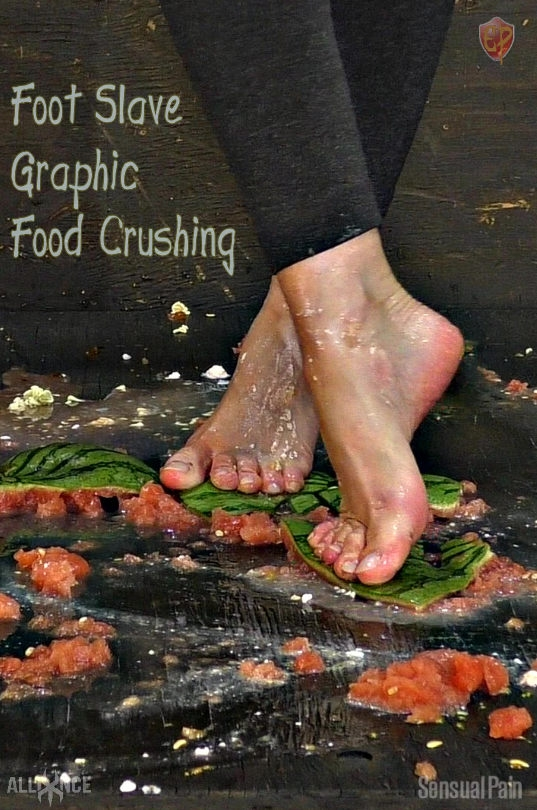 SENSUAL PAIN - Foot Slave Graphic Food Crushing | Abigail Dupree (2019/FullHD/2.19 GB)