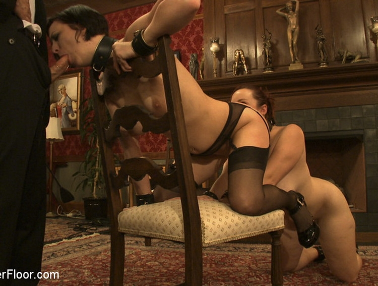 TheUpperFloor - Cherry Torn, Bella Rossi - Service Session: Slaves in Bondage (2010/HD/296 MB)