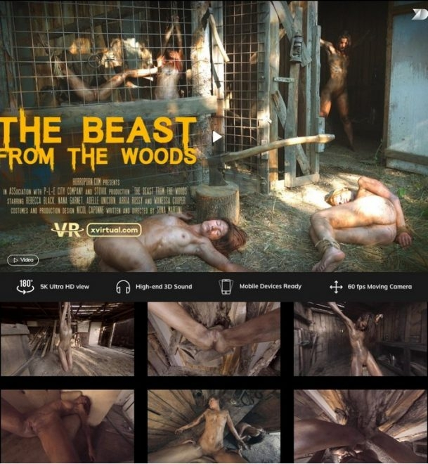 X Virtual, Horror Porn - The beast from the woods (2019/UltraHD/2K/1.63 GB)