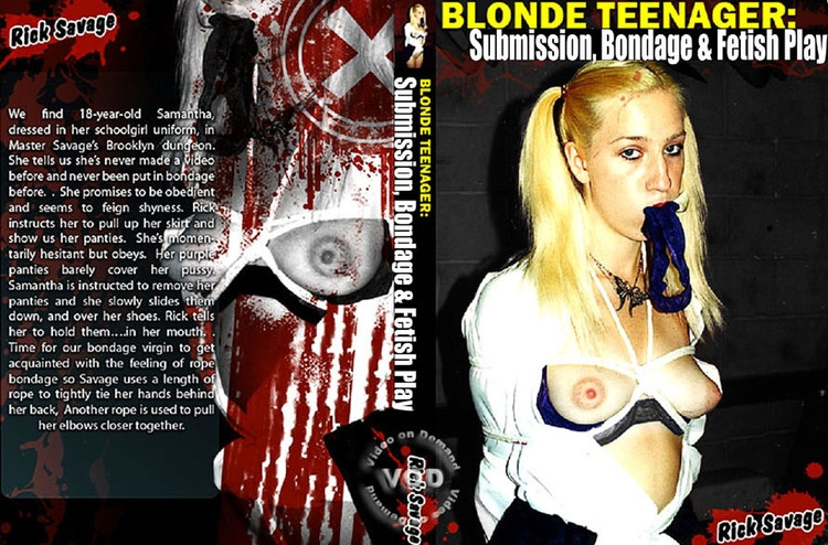 Blonde Teenager: Submission, Bondage & Fetish Play (2020/SD/515 MB)