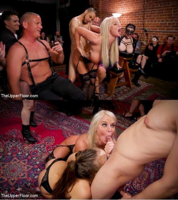 THE UPPER FLOOR - Aiden Starr, Maestro Stefanos, London River, Gia Derza, Donny Sins - Big-Titted Anal Slave Rewarded & Fisted For Training Teen Submissive (2020/HD/3.04 GB)