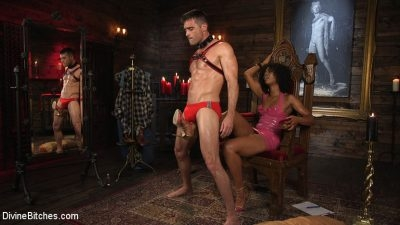 Divine Bitches - Lance Hart, Misty Stone - Hard Torture and Deep penetration of BDSM Sex (2020/HD/2.00 GB)