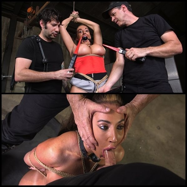 Big Ass-ed MILF Richelle Ryan Trained and Fucked in Rope Bondage (2020/HD/2.32 GB)