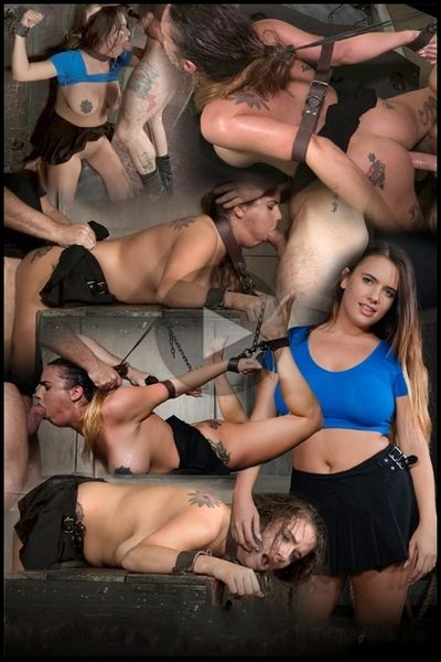 Sexy Girl Next Door has her first Bondage and rough sex experience, gets destroyed by cock (2020/HD/1.59 GB)