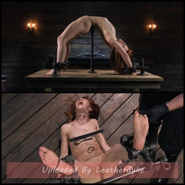 Petite Slave Alexa Nova Locked in Metal Bondage and Tormented Orgasms (2020/HD/1.58 GB)