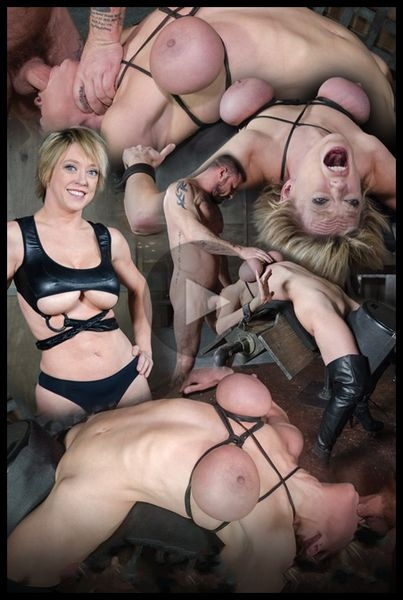 Dee Williams, our sexy resident Top, gets grabbed, severely bound, Brutally face fucked on a sybian (2020/HD/549 MB)