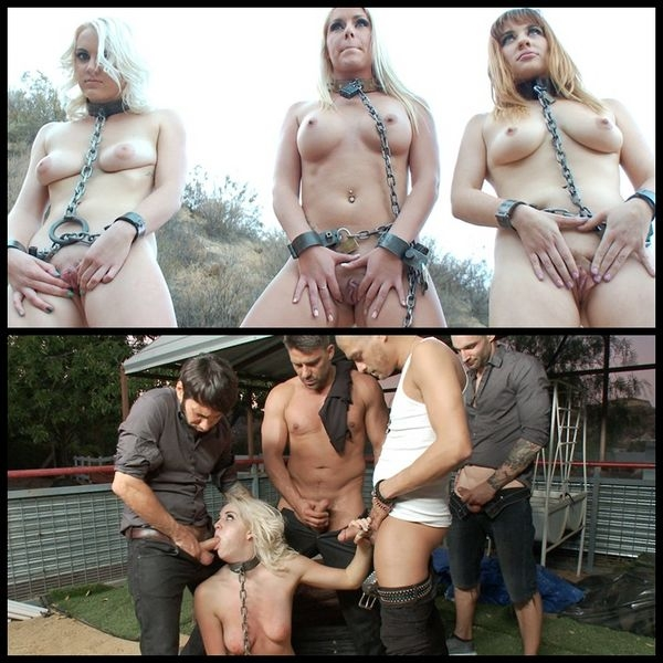 Chained voluntary sex-slave auctioned to 5 hungry cocks (2020/HD/2.61 GB)