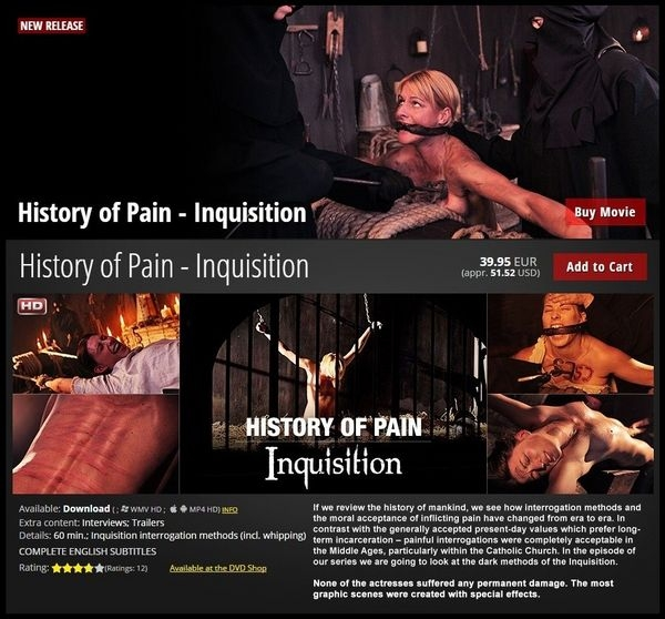 Inquisition - History of Pain (2020/HD/2.29 GB)