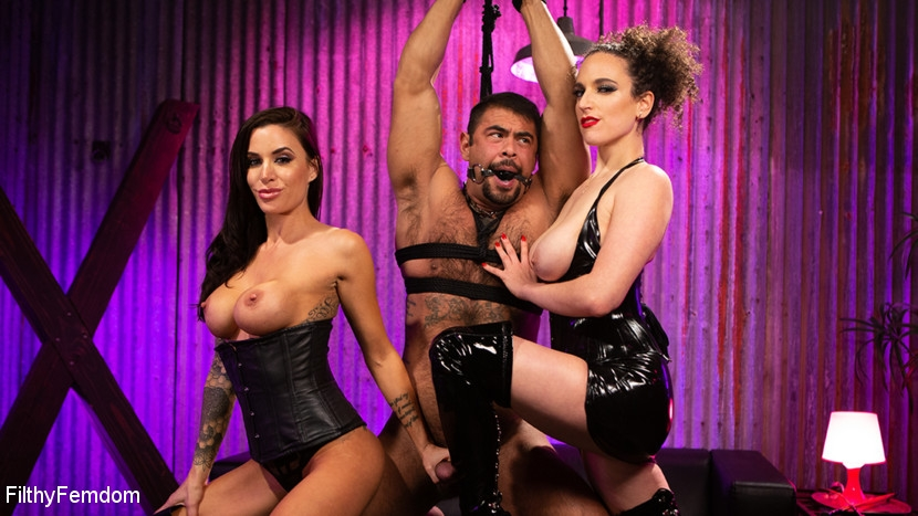 FilthyFemdom - Gia DiMarco, Mistress Blunt, Draven Navarro - Hard Fucked in the Pussy and Cum in the Mouth (2020/HD/1.99 GB)