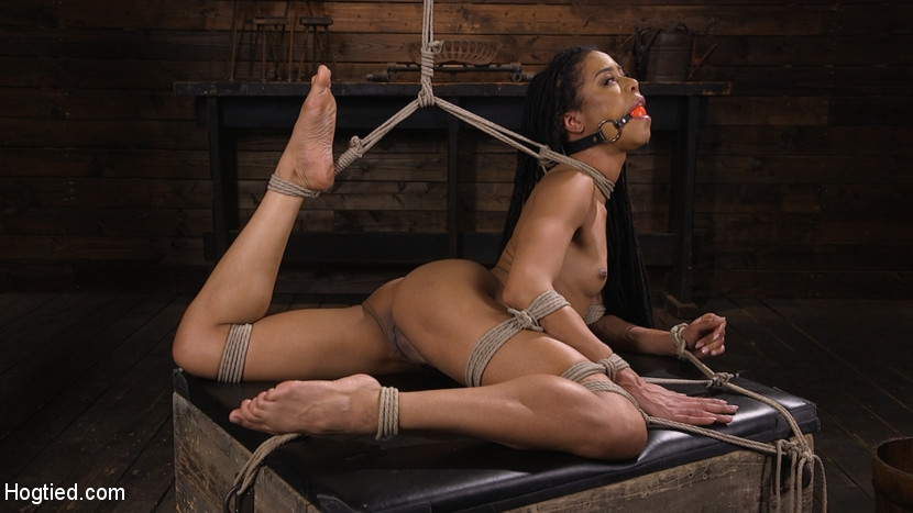 Hogtied - Kira Noir - Torture Domination and Incredible pain (2020/HD/1.56 GB)