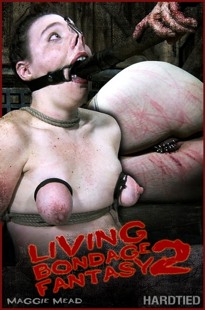 Hardtied - Maggie Mead - Living Bondage Fantasy 2 (2020/HD/1.87 GB)