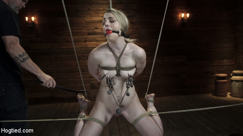 Hogtied - Kate Kennedy - BDSM (2020/HD/1.45 GB)