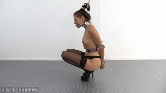 Metal Bondage - Britney - Hair Chained (2020/FullHD/501 MB)