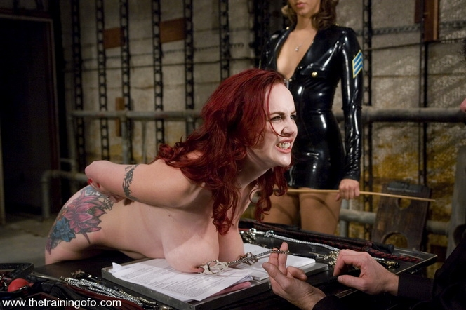 TheTrainingOfO - Mz Berlin, Isis Love, Daphne Rosen - BDSM (2020/SD/489 MB)